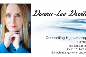 Donna-Lee Business Card front op2