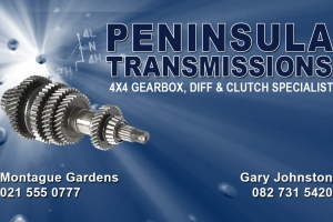 Peninsula Transmissions ONLY